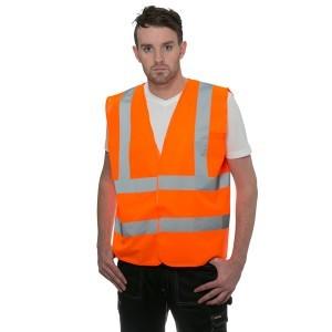 Hi Vis Vest Orange